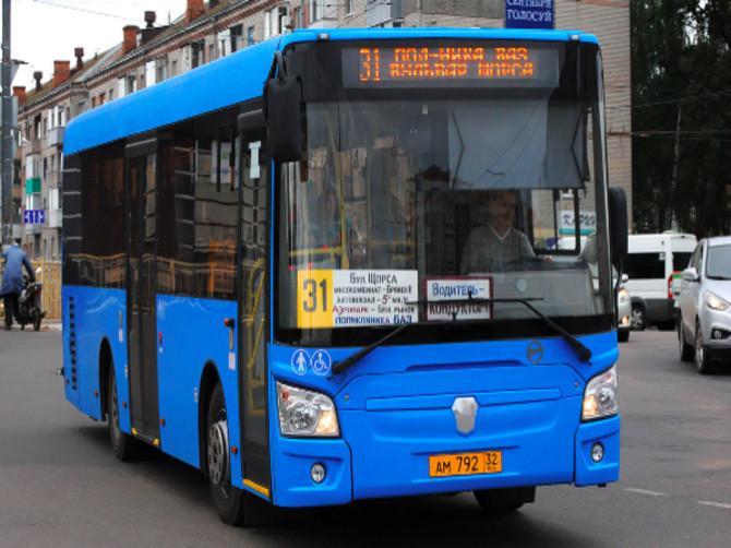 В Брянске увеличат количество автобусов №31 в будние дни