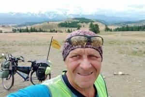 Брянский велопутешественник достиг монгольской границы