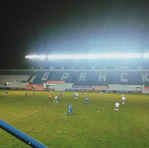 Брянское «Динамо» на своем поле проиграло московскому «Чертаново»
