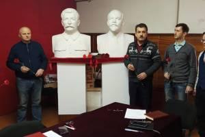В Брянске коммунисты без масок отметили день рождения Сталина