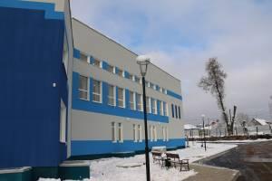 В Дятьково готовят к открытию новый спортивный комплекс «Олимп»