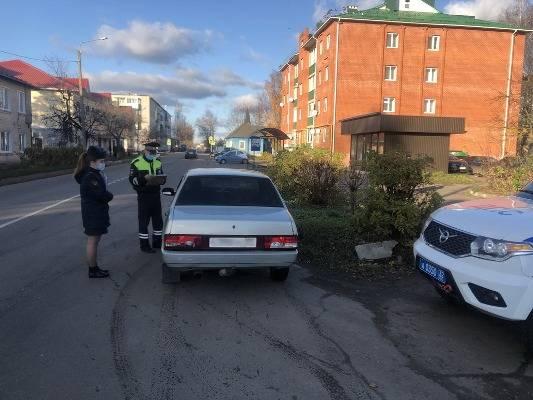 В Карачеве поймали за рулем лишенного прав осужденного