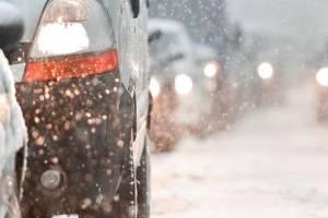 Брянских водителей предупредили о сильном снегопаде и дожде 21 января