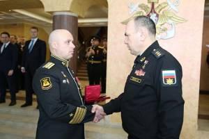 Командира подлодки «Брянск» наградили за заслуги перед Отечеством
