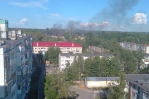 В Брянске жителей Новостройки испугал густой черный дым