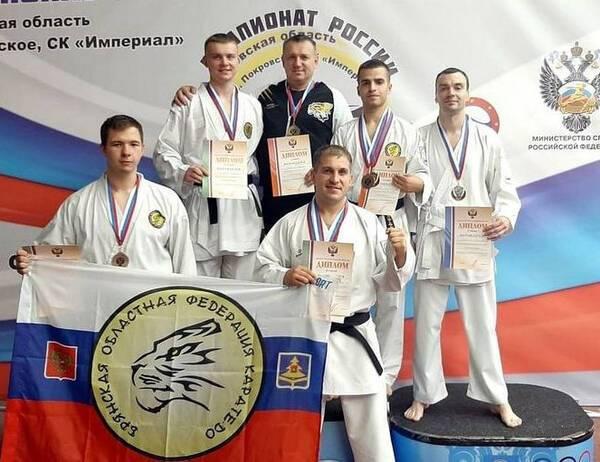 Брянский каратист победил на чемпионате России
