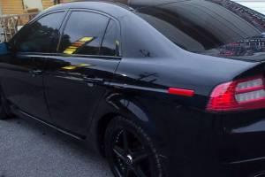 В Брянске впервые арестовали водителя за тонированные стекла