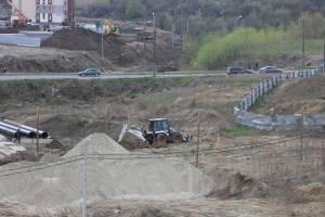 В Брянске началось активная стройка «счастливой» для Дворца единоборств дороги