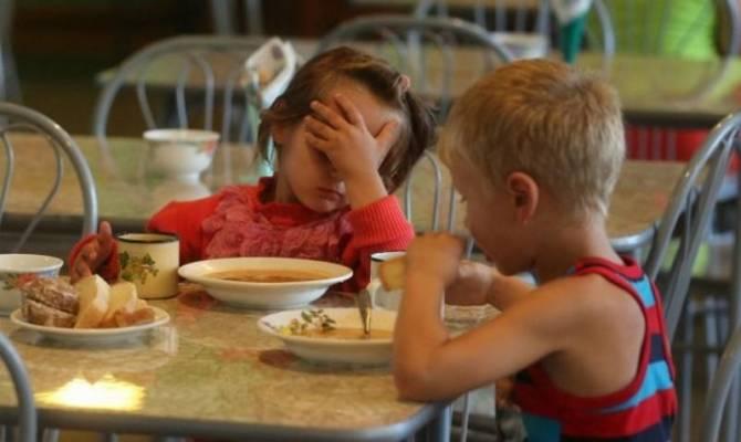 Мглинских школьников кормили из битой посуды