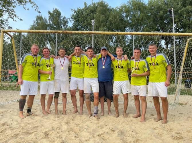 Брянский «ТСА» победил на турнире по пляжному футболу