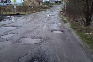 Брянцы пожаловались на убитую дорогу в Толмачево