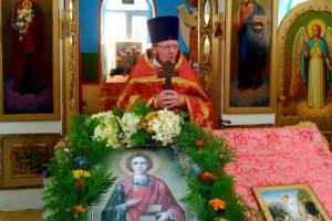 Под Брянском в храме детского реабилитационного центра состоялся крестный ход