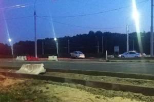 В Фокинском районе Брянска на кольце легковушка попала в ДТП