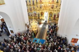 В Брянске прошёл крестный ход в честь Свенской иконы Божией Матери