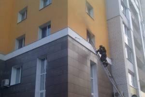 В Брянске из горящей многоэтажки на Дуки эвакуировали 10 человек