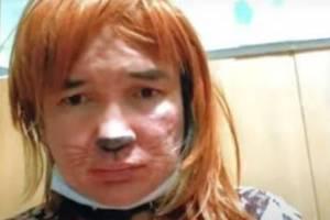 Устроившую скандал в брянском кафе «девушку-кошку» выпустили из психбольницы