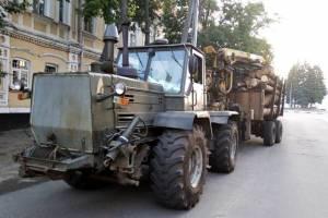Под Новозыбковом поймали водителя лесовоза без документов