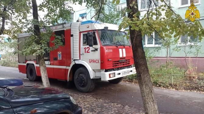 В Брянске из горящей пятиэтажки эвакуировали 9 человек