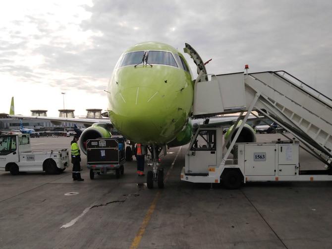 Самолёт из Санкт-Петербурга в Брянск задержали по неизвестной причине