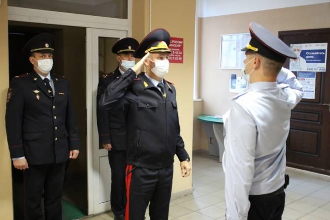 Новым начальником навлинской полиции назначен Алексей Пушкарев