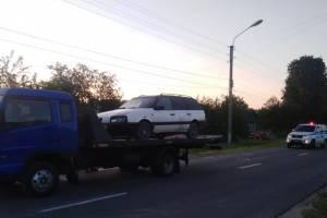 Ночью в Климово поймали пьяного 32-летнего водителя Volkswagen