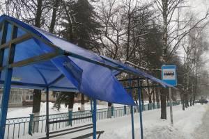 В посёлке Локоть снег проломил крышу «домика Ниф-Нифа»