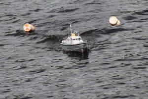 Юные брянские судомоделисты выявляли лучших на озере Чертовица