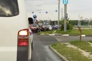 Брянск встал в огромной пробке на выезде из Фокинского района