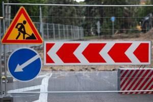 В Клинцах до конца лета закрыли движение по улице Пушкина