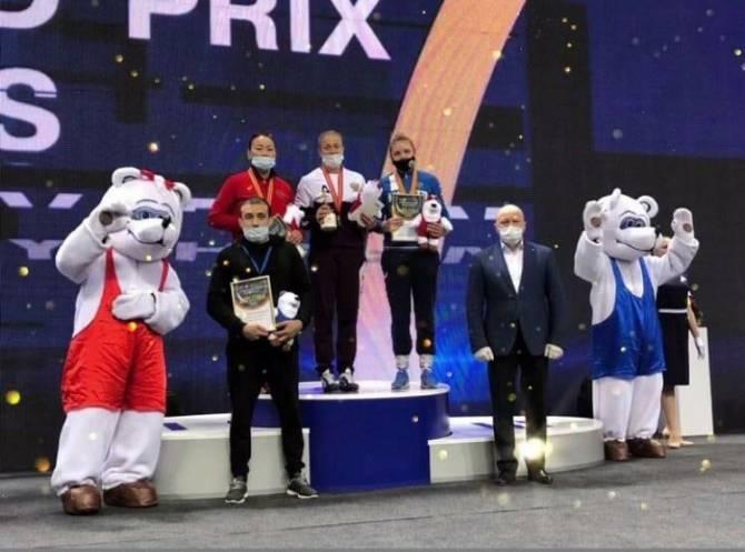 На Гран-при по спортивной борьбе Татьяна Смоляк из Брянска выиграла бронзу