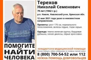 На Брянщине продолжаются поиски пропавшего 79-летнего Николая Терехова