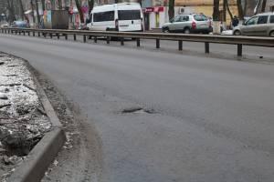 В Брянске 63 дороги отремонтировали с браком