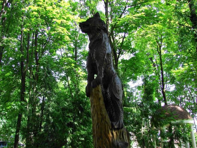 Брянцев позвали на вечернюю прогулку в «Деревянную сказку»