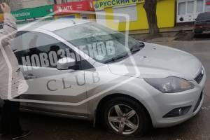 В Новозыбкове возле ТЦ Кристалл нашли ловушку для автомобилистов