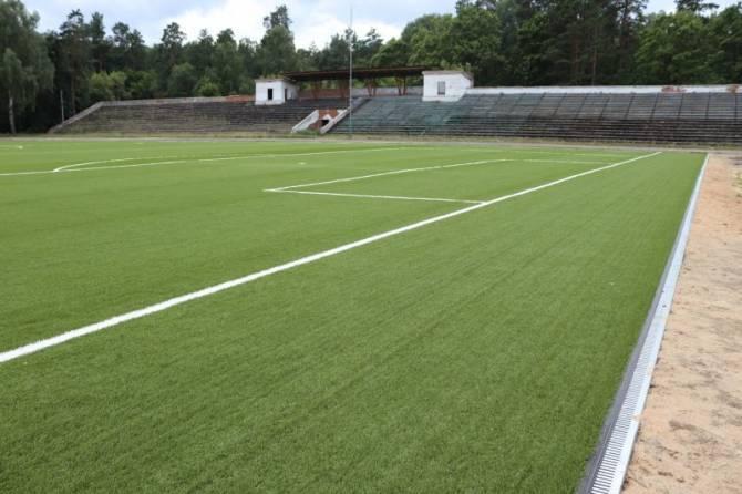 В Клинцах первый этап реконструкции стадиона «Труд» завершится к концу октября