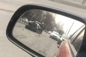 В Фокинском районе Брянска около моста произошло ДТП