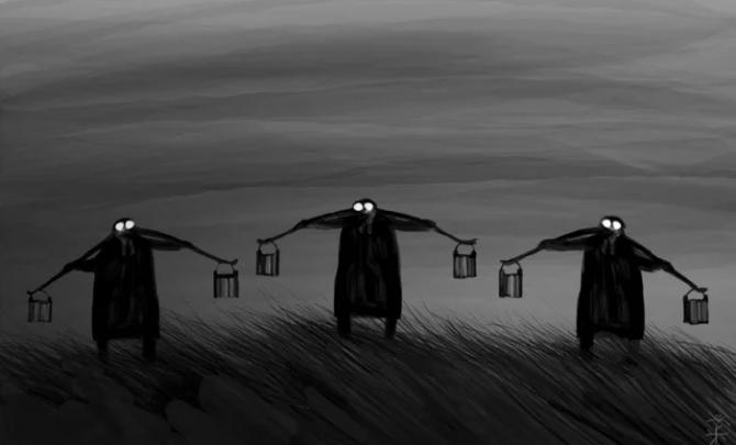 Жителей Радицы-Крыловки вынудили ходить за водой с вёдрами на речку