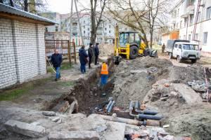 В Брянске переделывают кривой ремонт улиц Пушкина и Димитрова