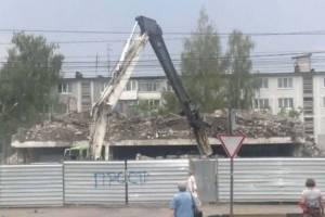 Брянцы воспротивились строительству ТЦ на месте снесённого ДК Гагарина