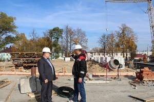 В Жуковке строят 10-метровый ФОК