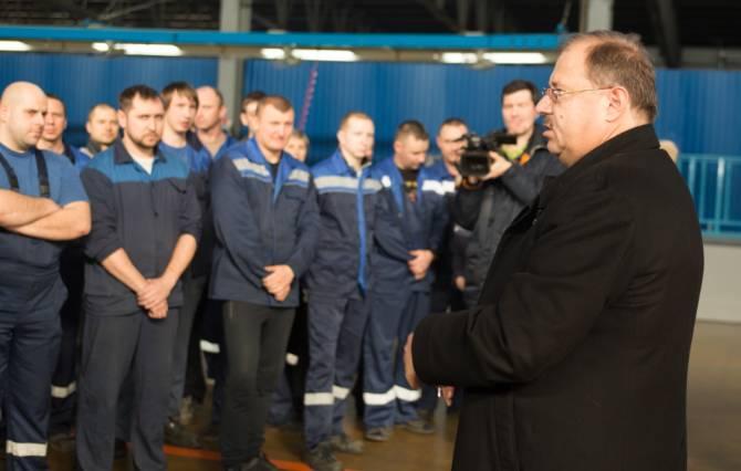 Борис Пайкин обсудил вопросы импортозамещения в Жуковке