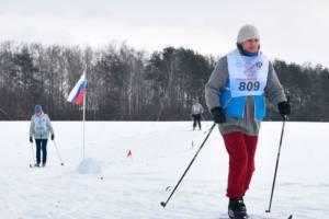 В Брянской области прошел массовый лыжный забег