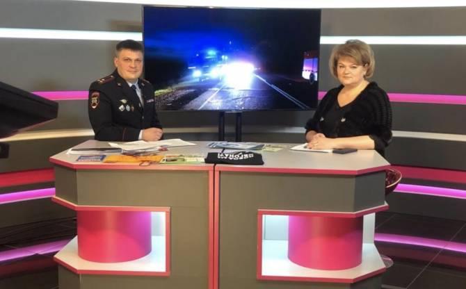 Начальник брянской ГАИ стал гостем студии телеканала «Городской»