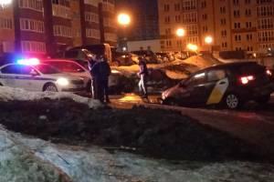 В Брянске полиция прибыла к месту ДТП с участием такси «Яндекс.Go»