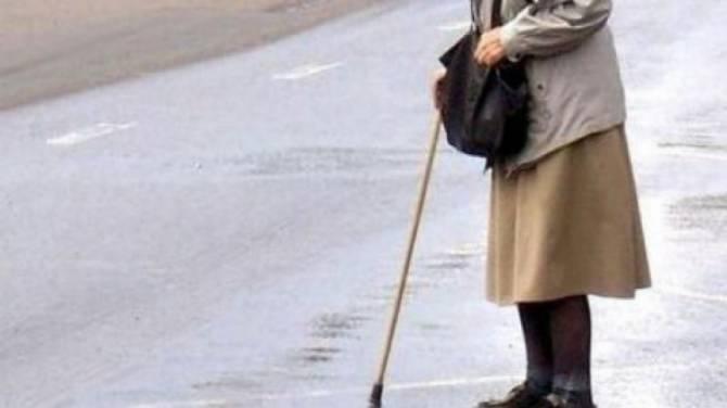 В Клинцах 76-летняя пенсионерка-нарушительница попала под машину