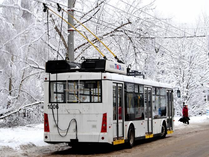 В Брянске изменится график движения троллейбуса №5