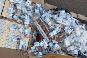 На Брянщине задержали мужчину с поддельными сигаретами на 700 тысяч рублей