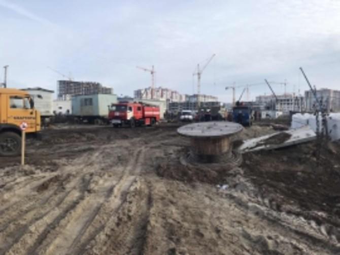 В Брянске строители при рытье котлована обнаружили авиабомбу