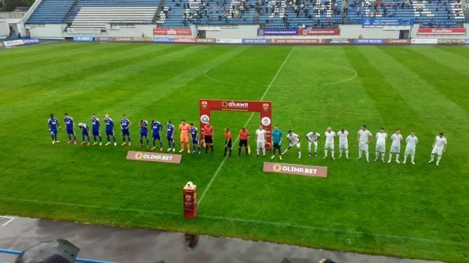 В Брянске начался матч ФНЛ между «Динамо» и «Оренбургом»