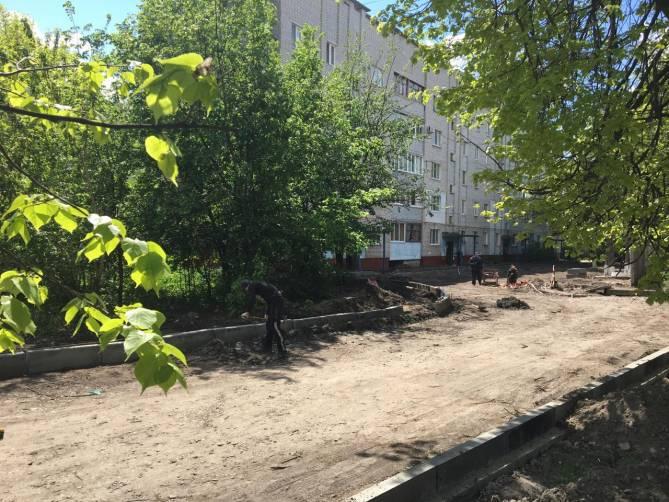 В Брянске за 14 млн рублей благоустроят двор на Металлистов